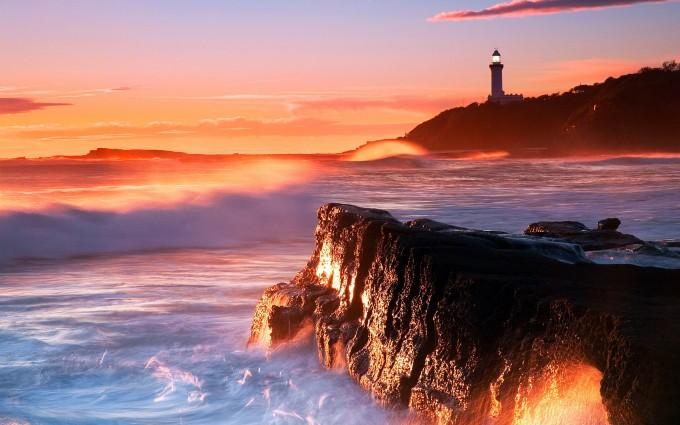 sunset photos lighthouse
