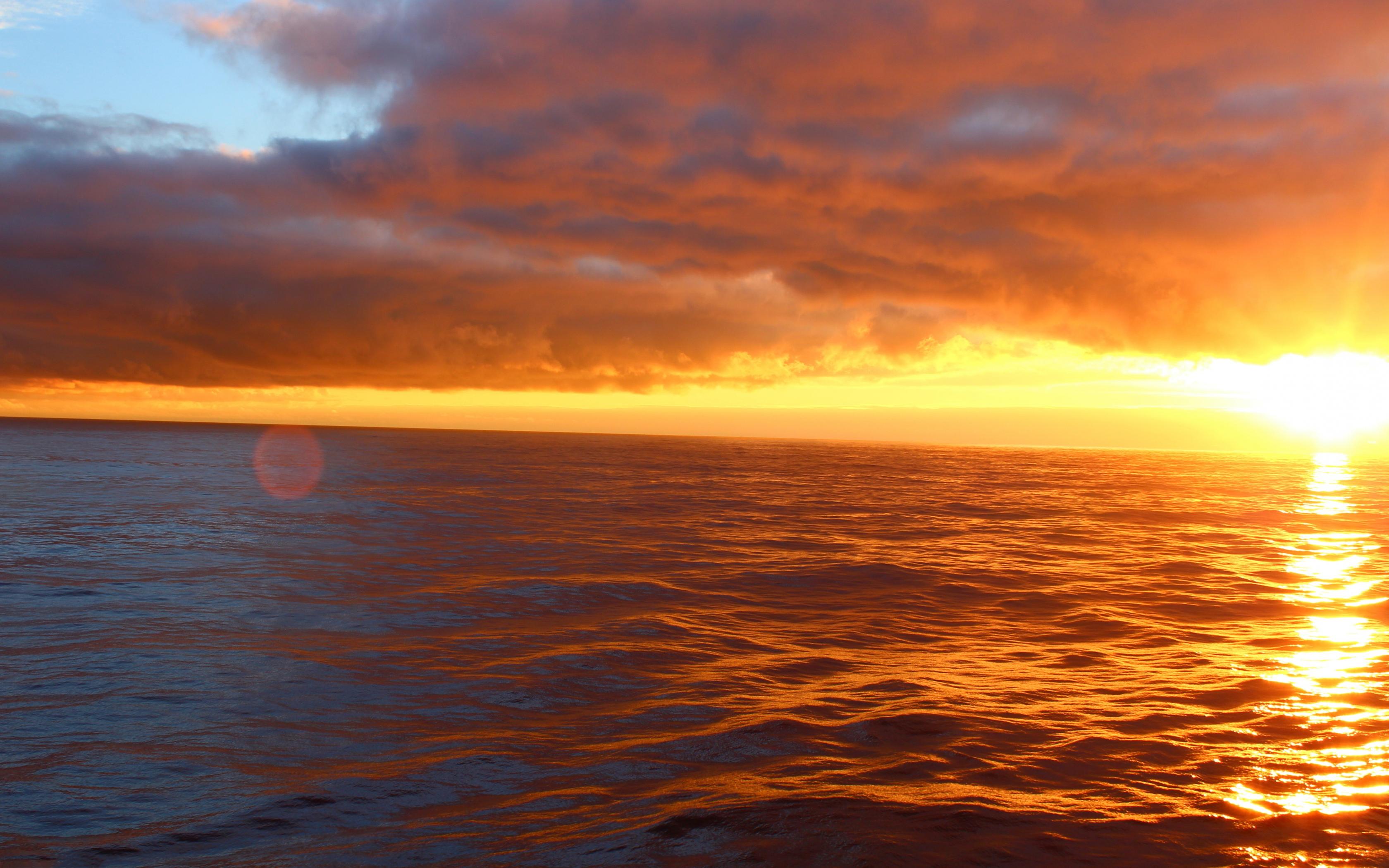 sunset photos ocean