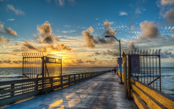 sunset wallpapers gates