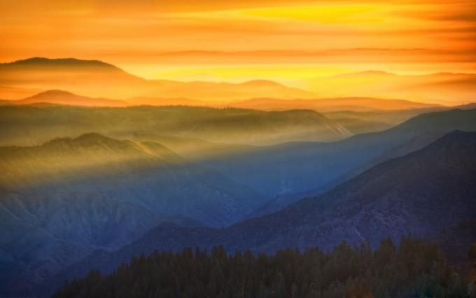 sunset wallpapers landscape 4k