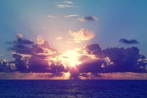 sunshine wallpaper sea