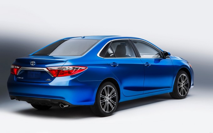 toyota camry blue wallpaper hd