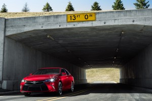 toyota camry red hd