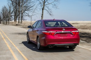 toyota camry red road
