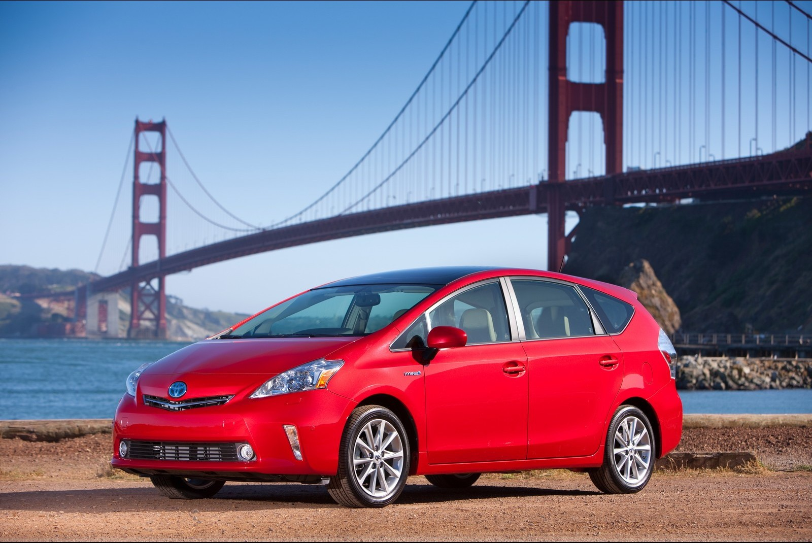 toyota prius red hd