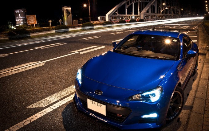 toyota scion blue