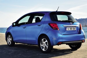 toyota yaris blue hd