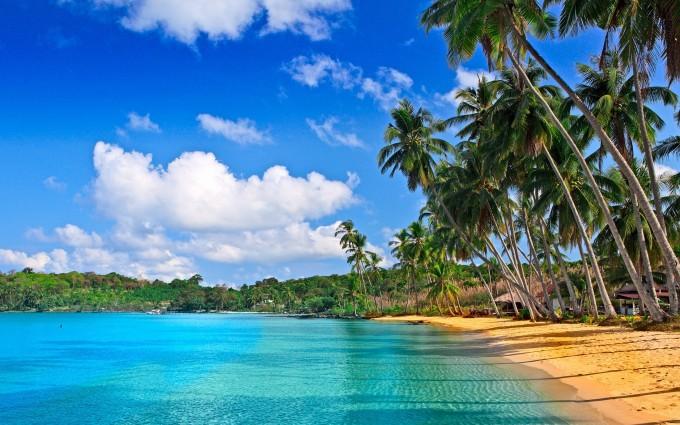 tropical beach images pc