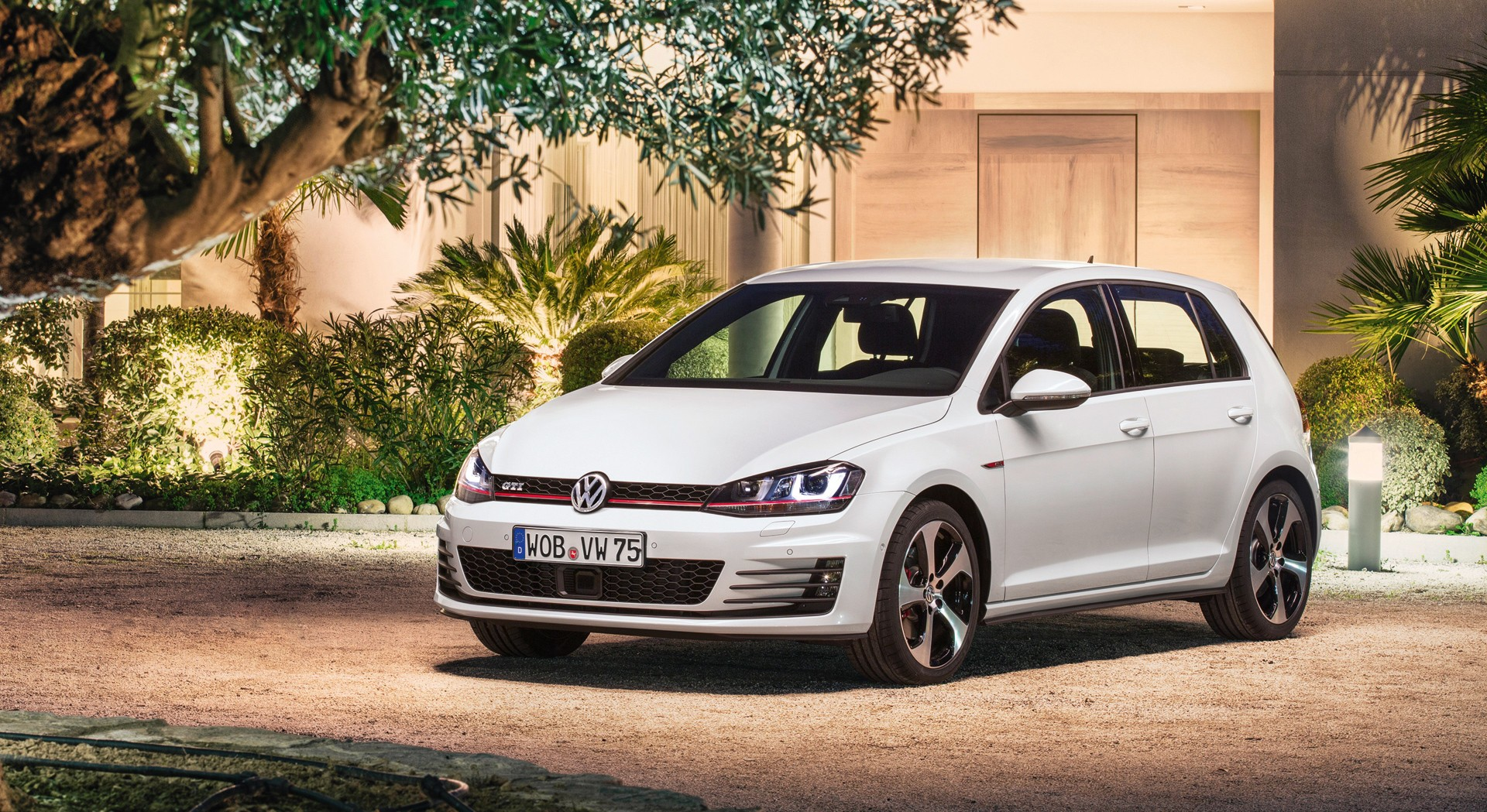 Volkswagen Golf Gti White Hd Hd Desktop Wallpapers 4k Hd