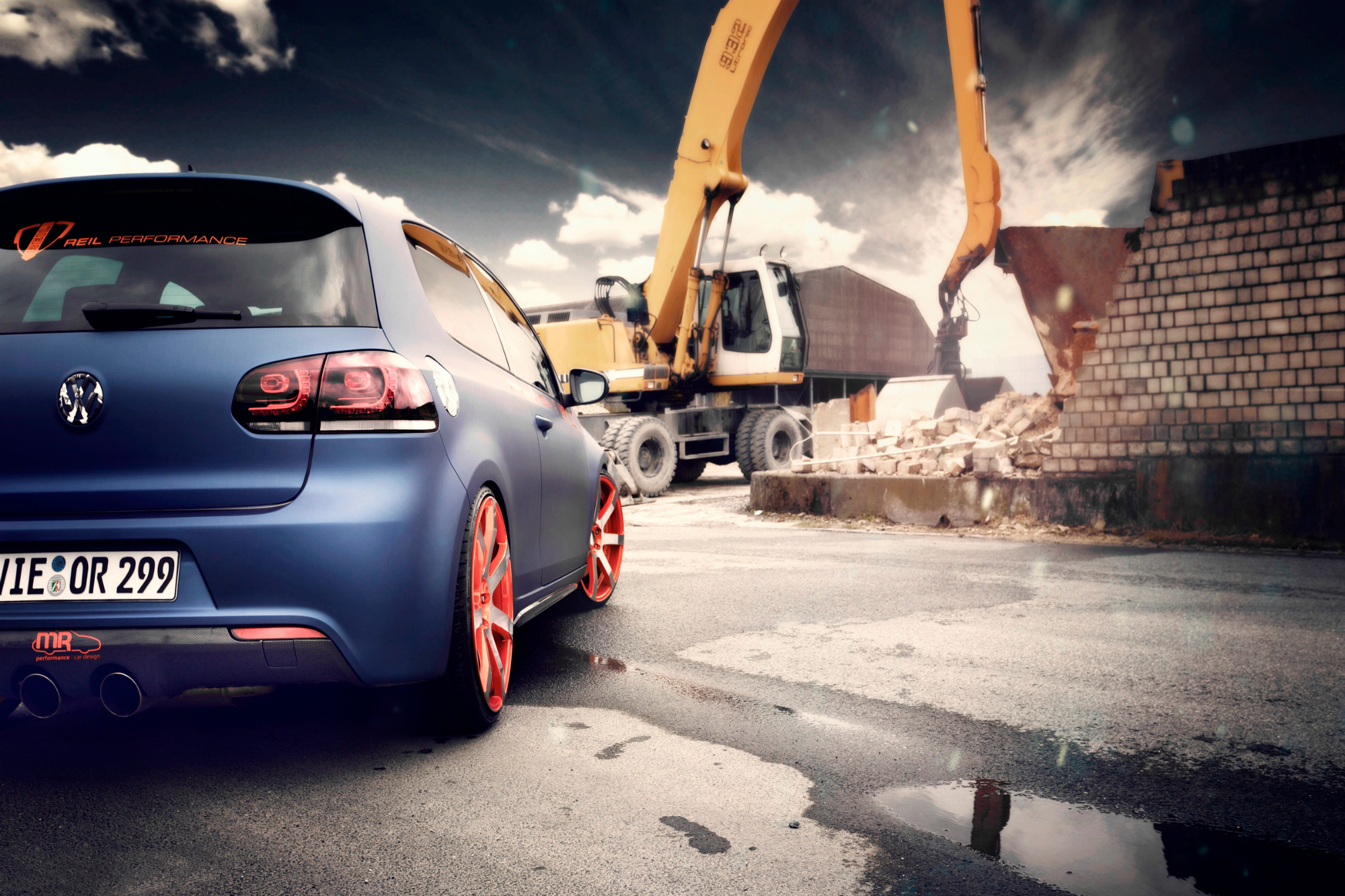 Volkswagen Golf Hd Wallpapers - HD Desktop Wallpapers