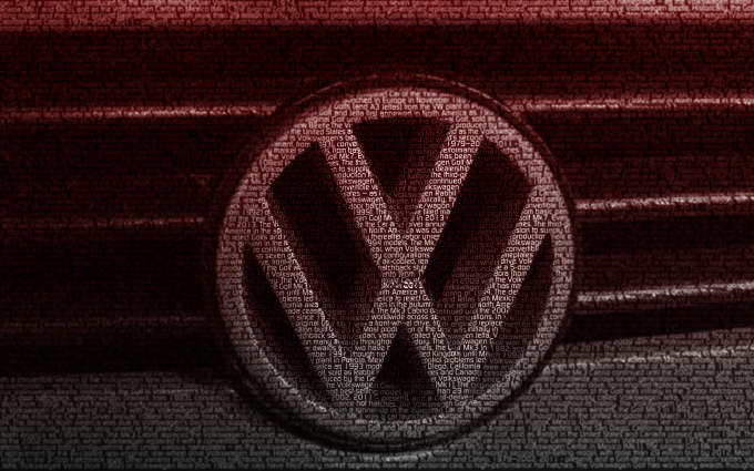 volkswagen golf logo wallpaper