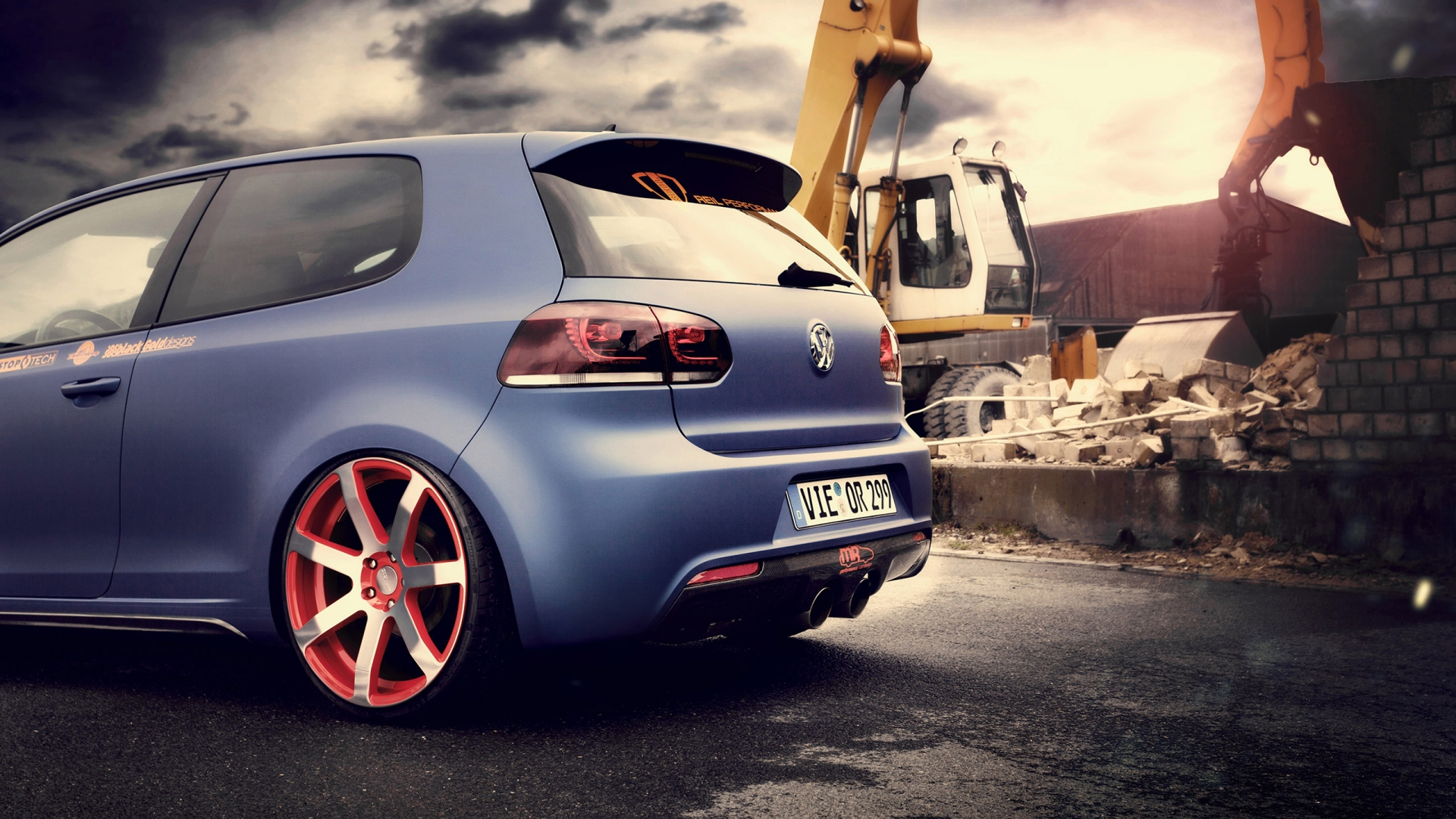 Volkswagen Golf Wallpaper Hd - HD Desktop Wallpapers