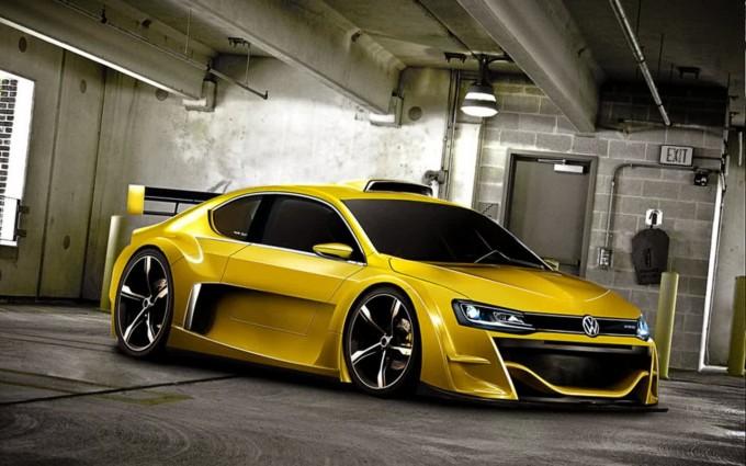 volkswagen jetta yellow