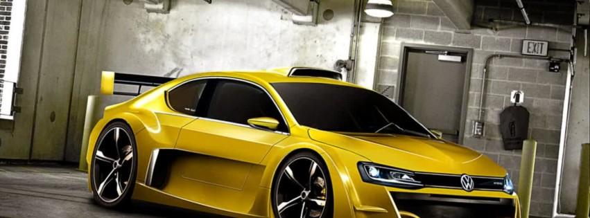 volkswagen jetta yellow hd desktop wallpapers  hd