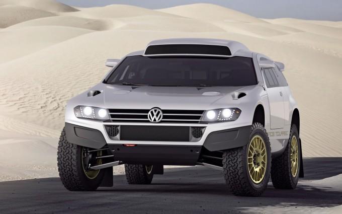 volkswagen touareg qatar concept race