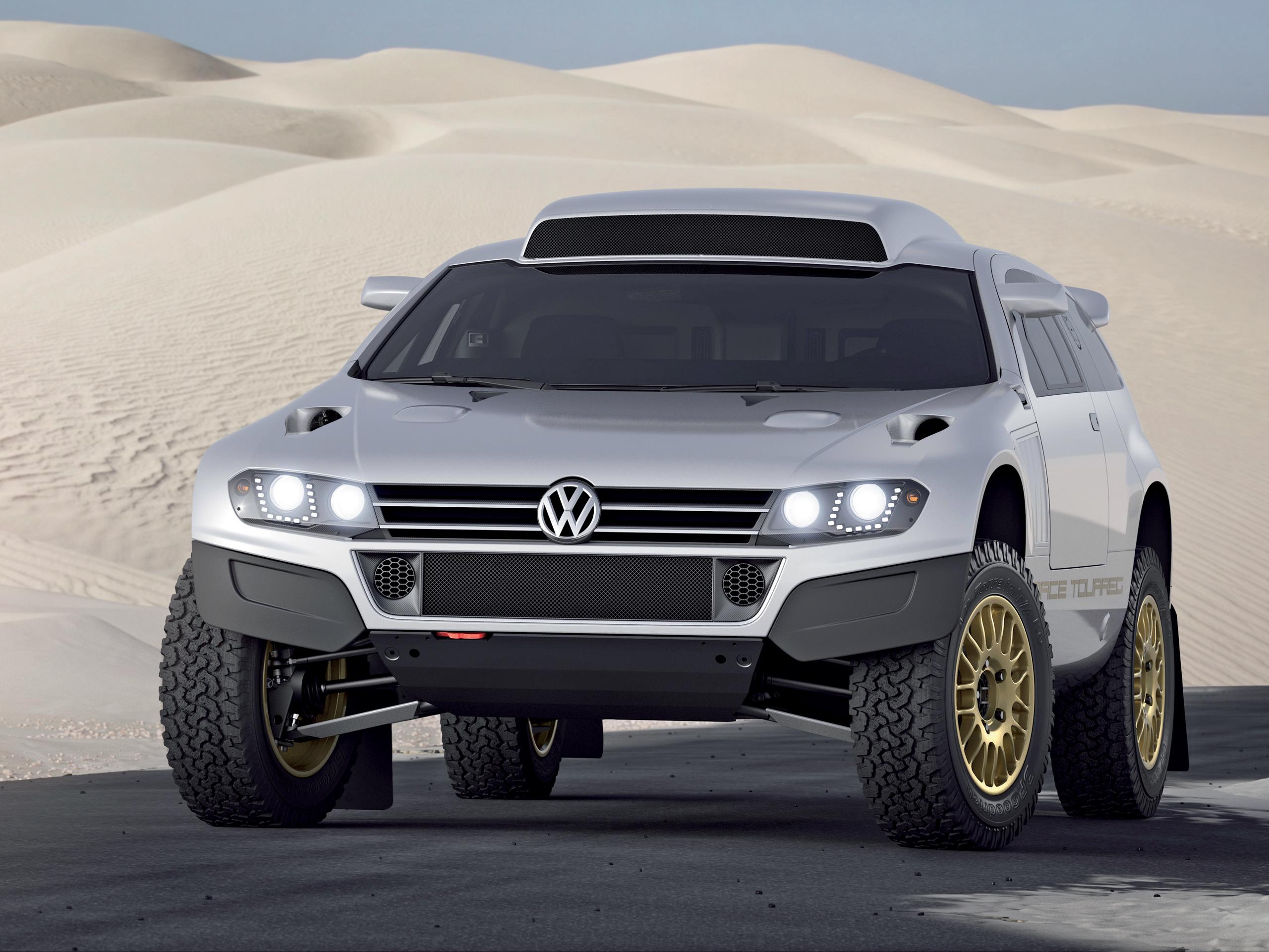 Volkswagen Studie Race Touareg 3 Qatar