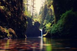 waterfalls nature pure hd