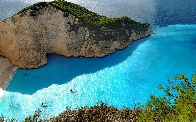 zakynthos lagune blue