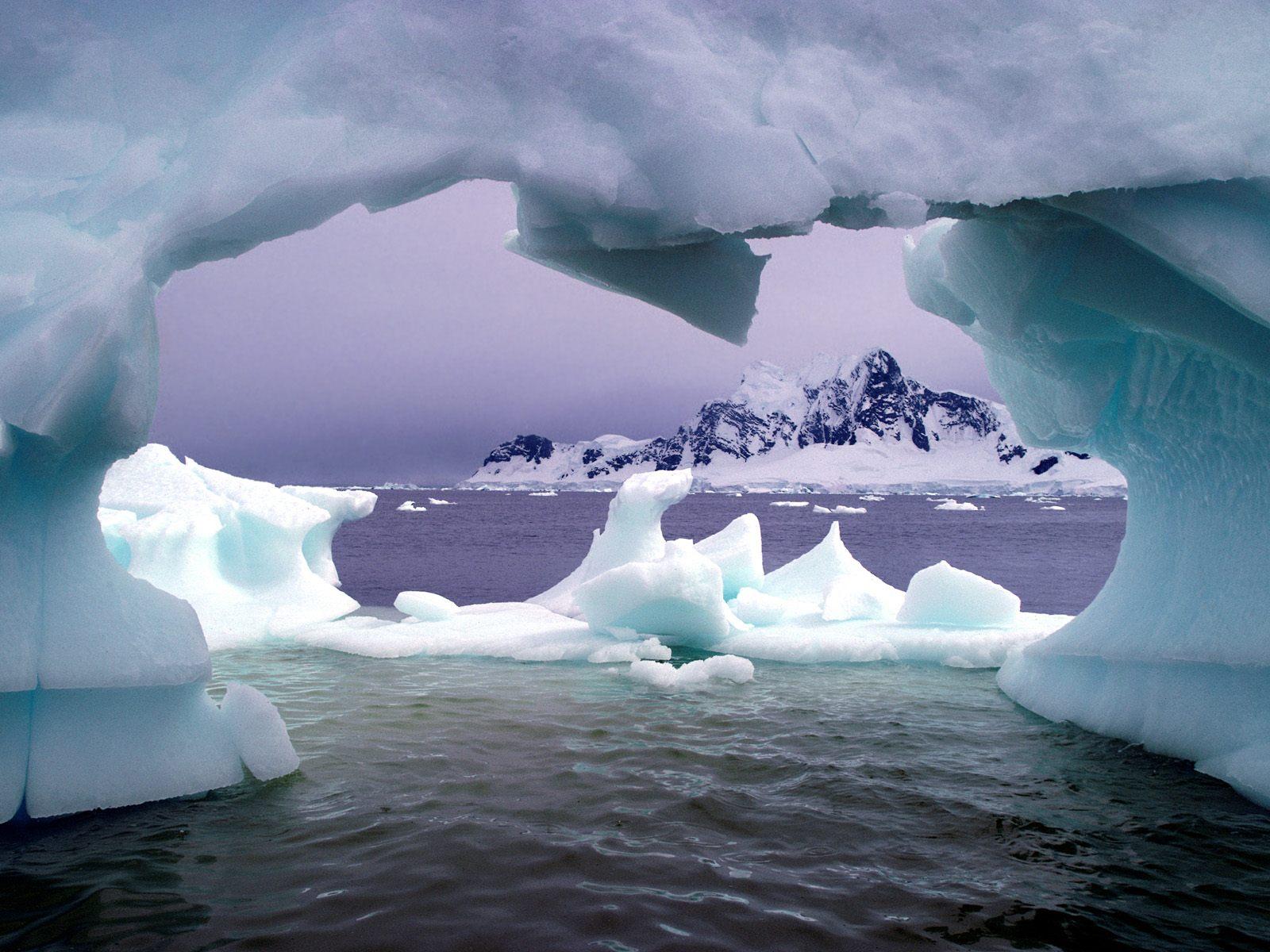 antarctica wallpaper A4