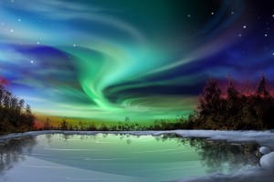 aurora borealis wallpaper download