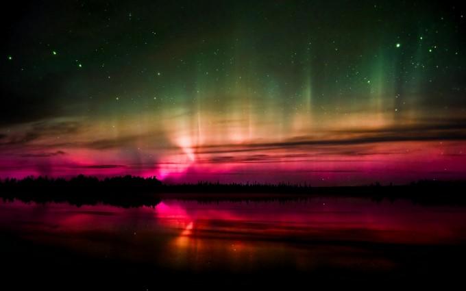 aurora pictures free