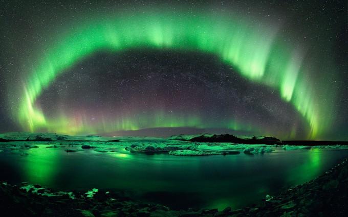 aurora wallpaper hd