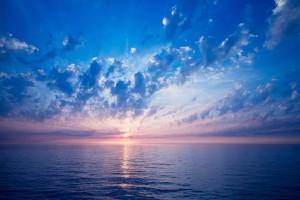 beach sunset wallpapers blue