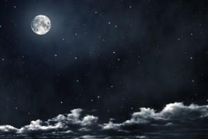 beautiful full moon wallpaper