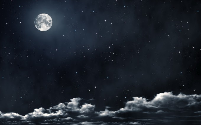 beautiful full moon wallpaper