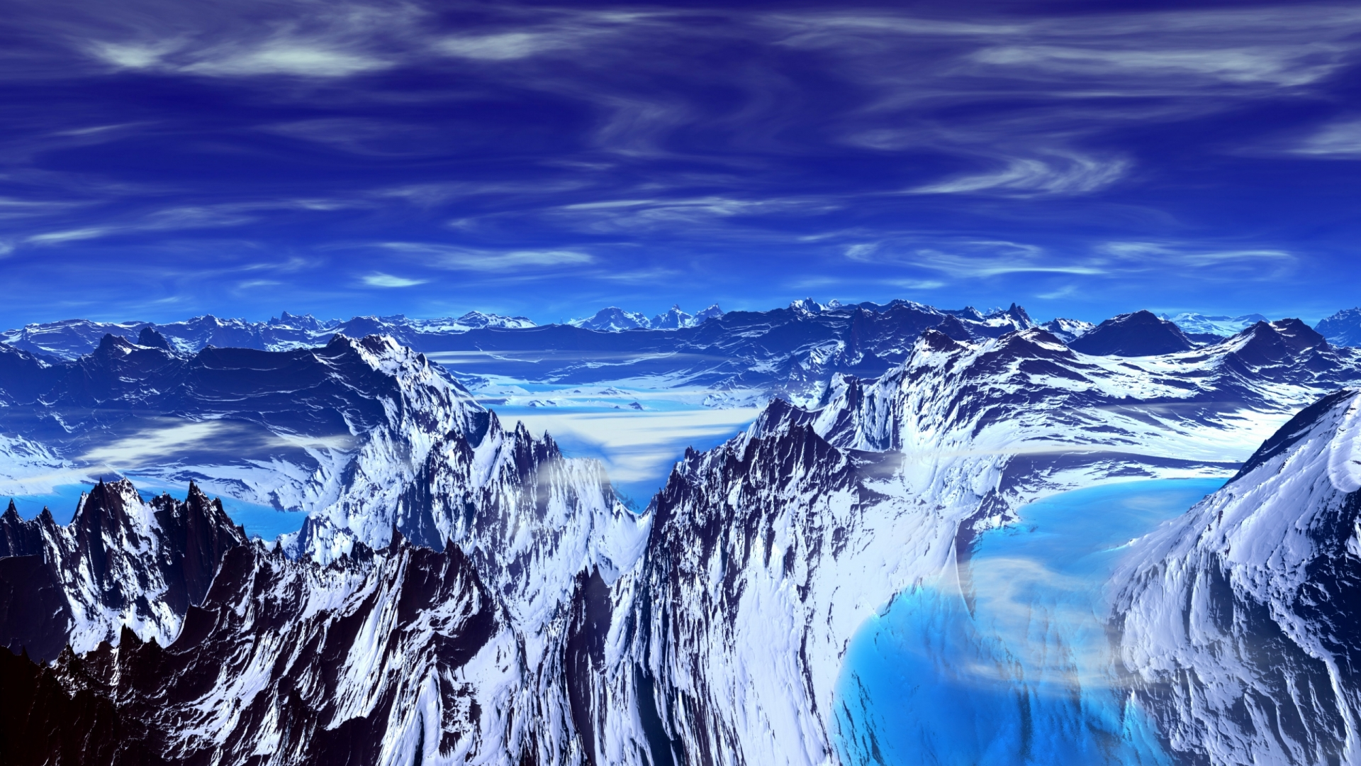 beautiful glacier wallpaper