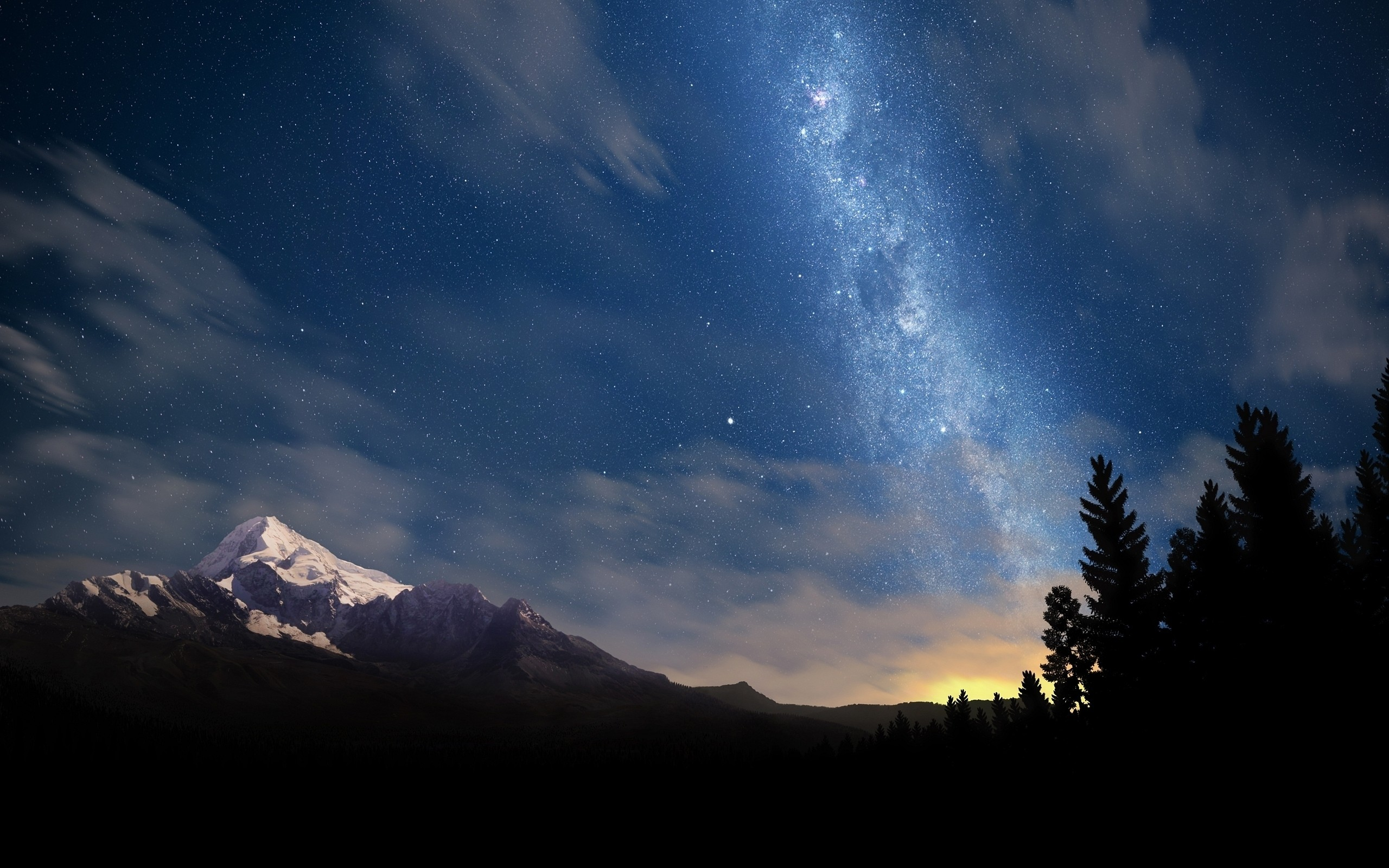 beautiful wallpaper milky way