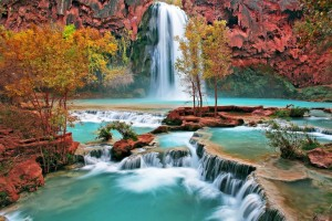 beautiful wallpaper nature waterfall
