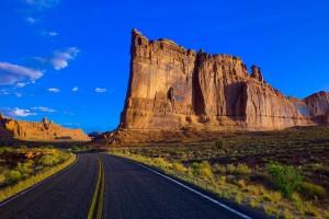 canyon wallpaper road