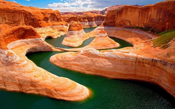 canyon wallpaper utah