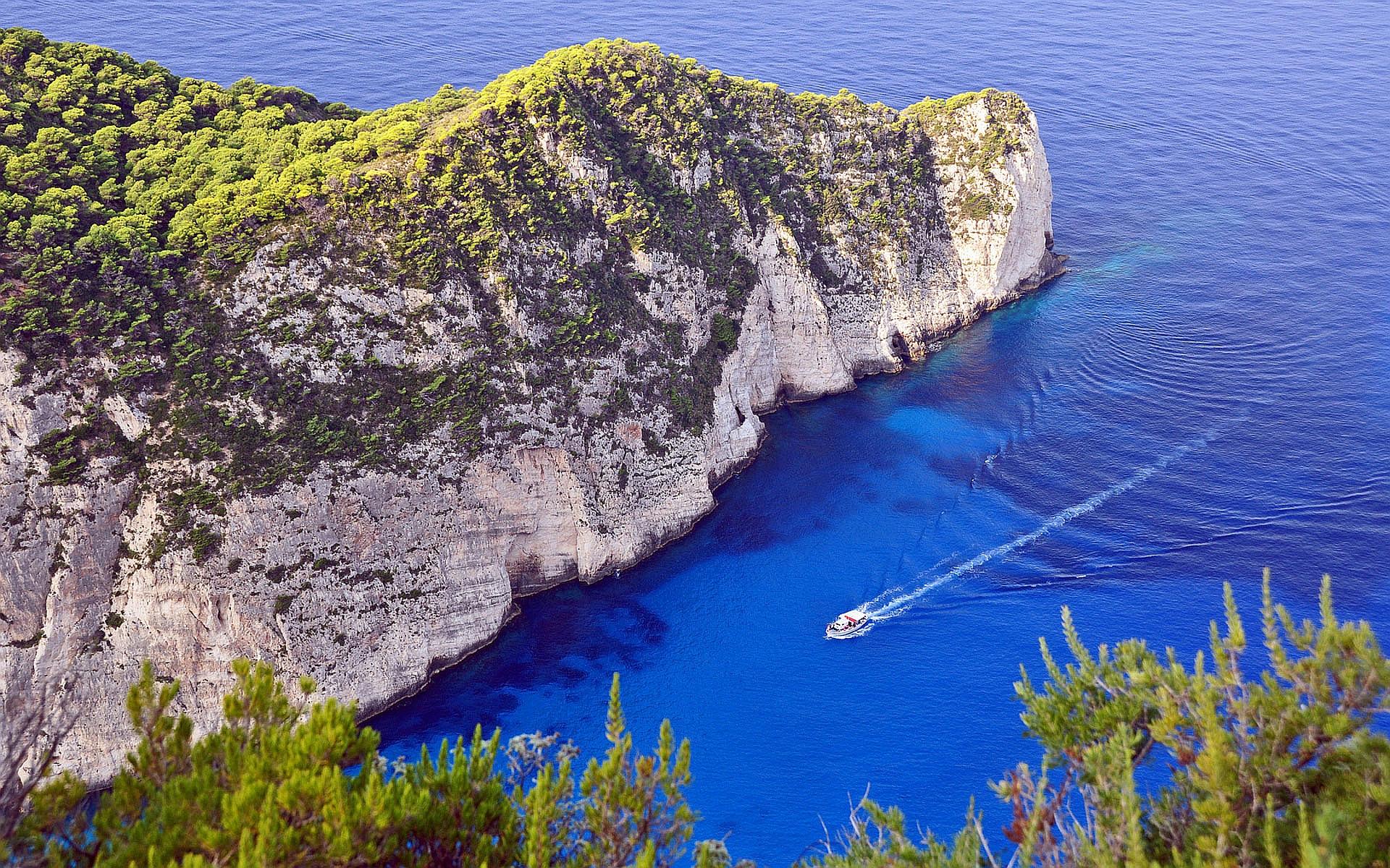 cliffs beach