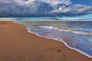 cloud wallpaper beach