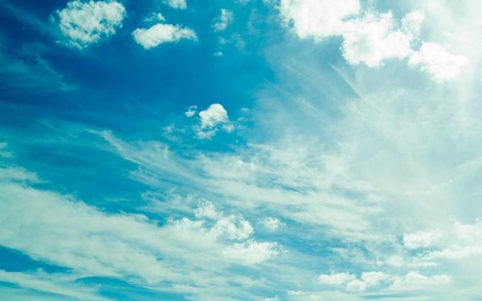 cloud wallpaper light blue
