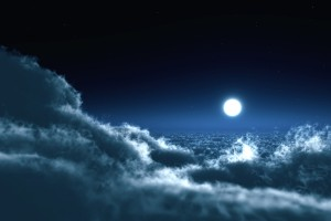 cloud wallpaper night