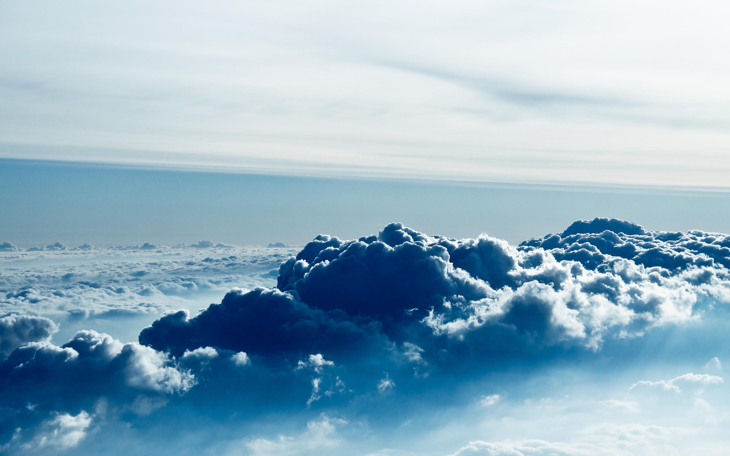 White Clouds In The Sky 4k Hd Desktop Wallpaper For 4k: Cloud Blue Wallpaper - HD Desktop Wallpapers