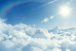 clouds wallpaper flare
