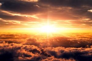 clouds wallpaper sunset
