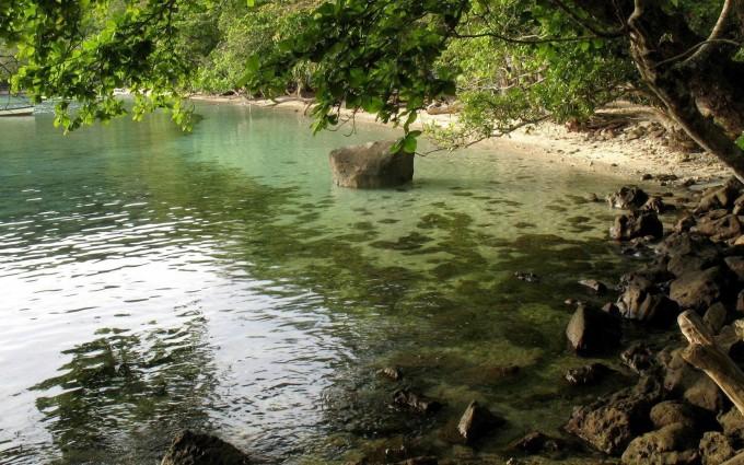 costa rica wallpaper lake