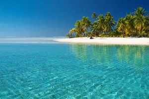 crystal clear beach