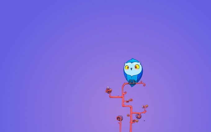 cute owls wallpaper