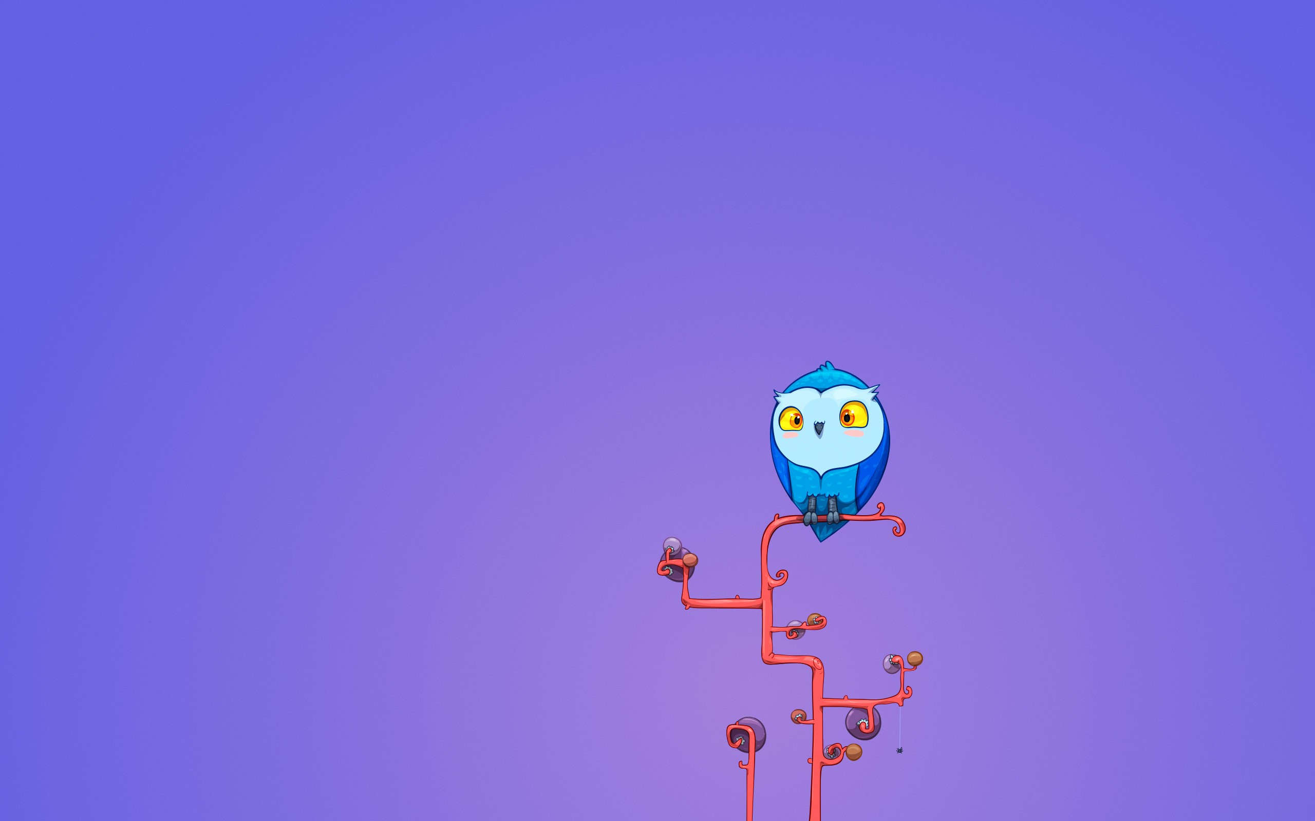 cute owls wallpaper
