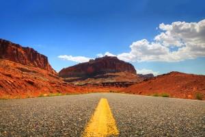desert road wallpaper