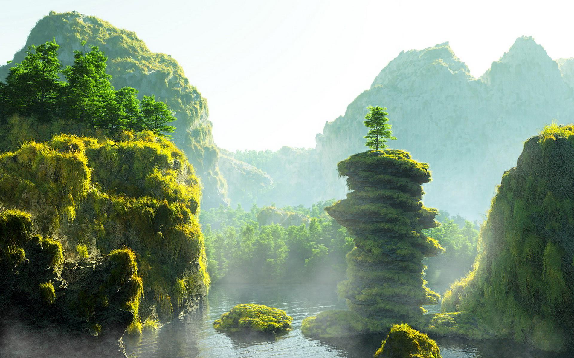 fantasy nature world
