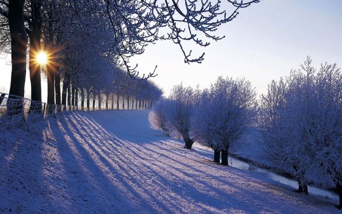 free desktop wallpaper winter scenes