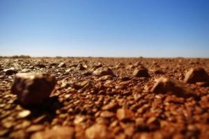 Rocky Ground HD Desktop Background