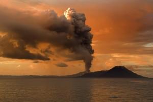 free wallpaper volcano